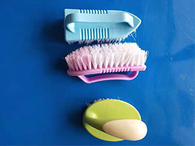 Laundry brush shoe brush
